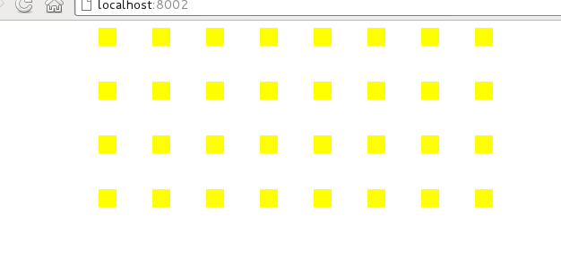 A load of yellow squares